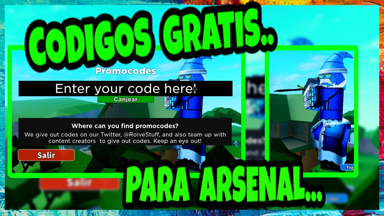 Arsenal Codes Mejoress