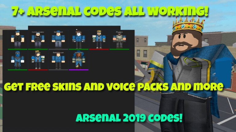 Arsenal Codes Roblox 2021