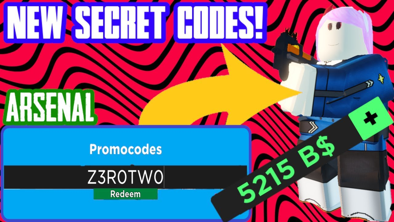 Arsenal Codes That Give You Money